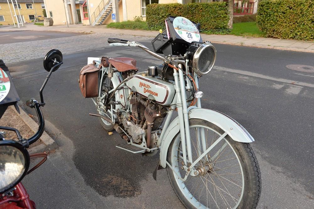 En Harley Davidson fra 1916. Foto: Jens Nielsen