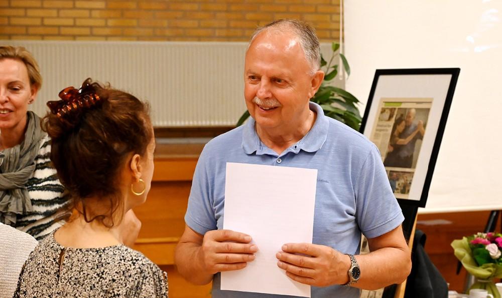 Erik Voss er tovholder på Hvidebækmessen. Foto: Jens Nielsen