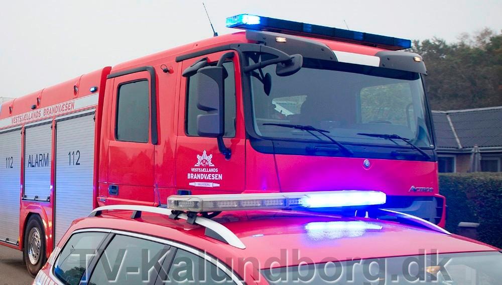 Vestsjællands Brandvæsen kommer forbi Meny på fredag og lørdag. Foto: Jens Nielsen