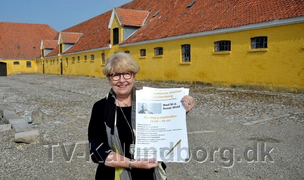 Det erSusanne Weihe som har fået ideen til etH. C. Andersen Art Center på Lerchenborg, som nu støttes af staten. Arkivfoto: Jens Nielsen
