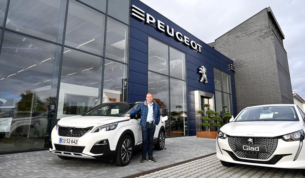 Glad afholder fire informationsdage om fremtidens biler. Foto: Jens Nielsen