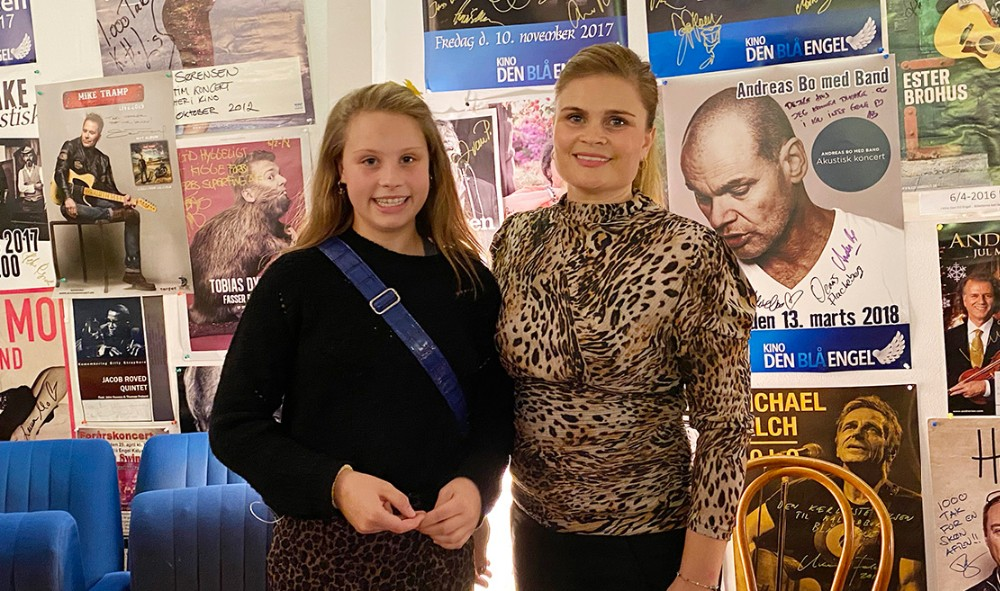 Thilde Mai Kull Thisgaard og Mette Thisgaard. Foto: Gitte Korsgaard.