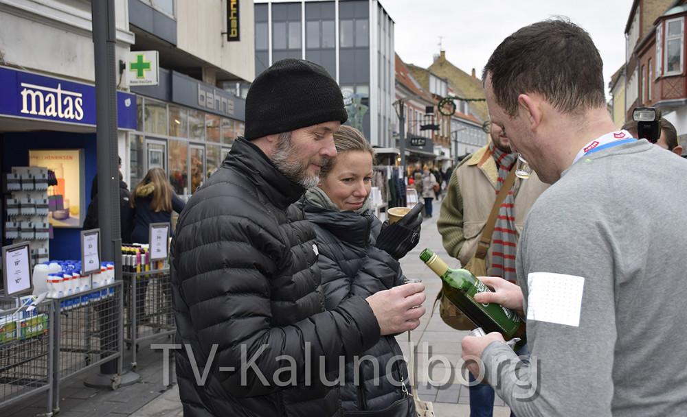 Gammel Dansk til tilskuerne. Foto: Gitte Korsgaard.