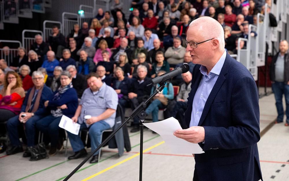 Hans Søie fra foreningen Beskyt Jammerland Bugt. Foto: Jens Nielsen