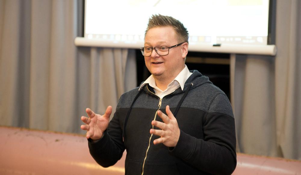 Jonas Henriksen blev valgt som formand. Foto: Jens Nielsen