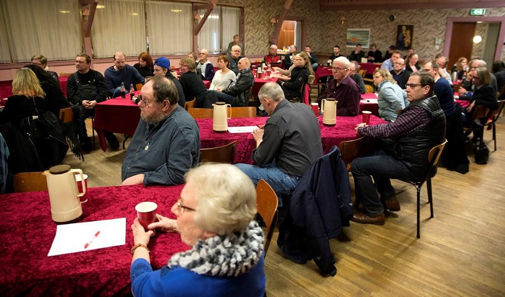 Mange var mødt op for at være med til at stifte lokalrådet for Gørlev og Omegn. Foto: Jens Nielsen