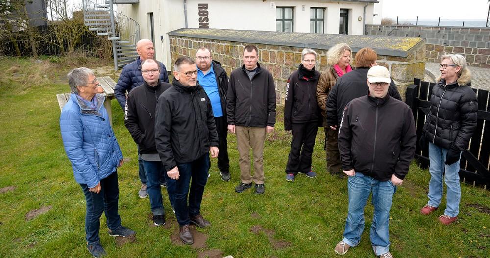 Folkene fra RUB ogBo- og Aktivitet var fredag samlet for at fortælle om den nye sæson. Foto:Jens Nielsen