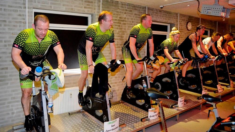 Blandt deltagerne var bl.a. Flemming Grandjean, Jesper Thomsen, Tom Christensen og Mille Grandjean. Foto: Jens Nielsen