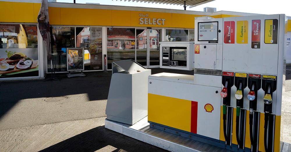 Shell tanken på Sct. Jørgensbjerg åbner i morgen onsdag. Foto: Jens Nielsen
