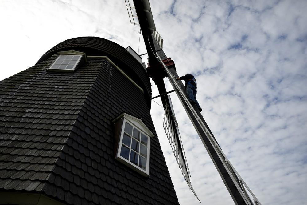 Ulstrup Mølle på Røsnæs har været godt besøgt hele sommeren. Foto: Jens Nielsen