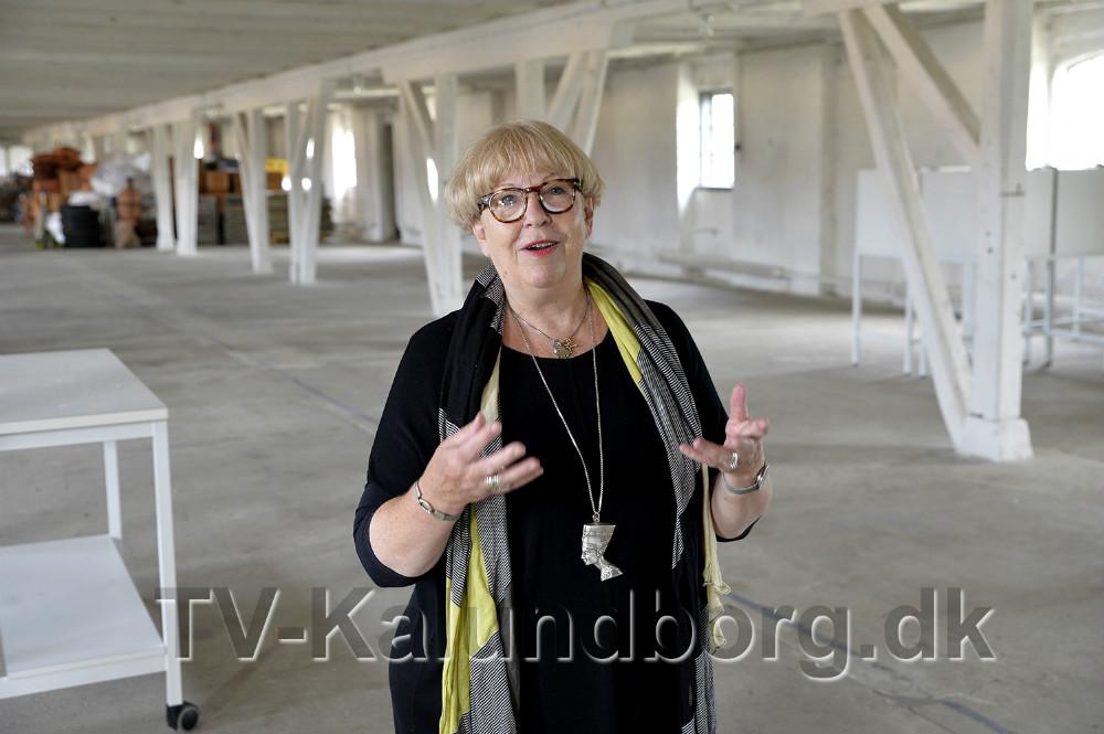 Susanne Weihe som står bag ideen til et H. C. Andersen Art Center. Foto: Jens Nielsen