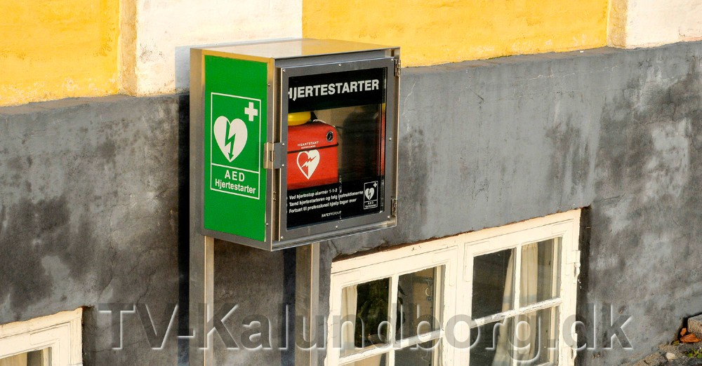 Hjertestarteren skal være tilgængelig 24 timer i døgnet. Foto: Jens Nielsen