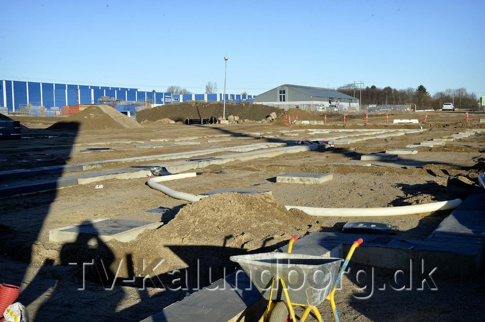 Fundamentet til 2. etape er klar. Foto: Jens Nielsen