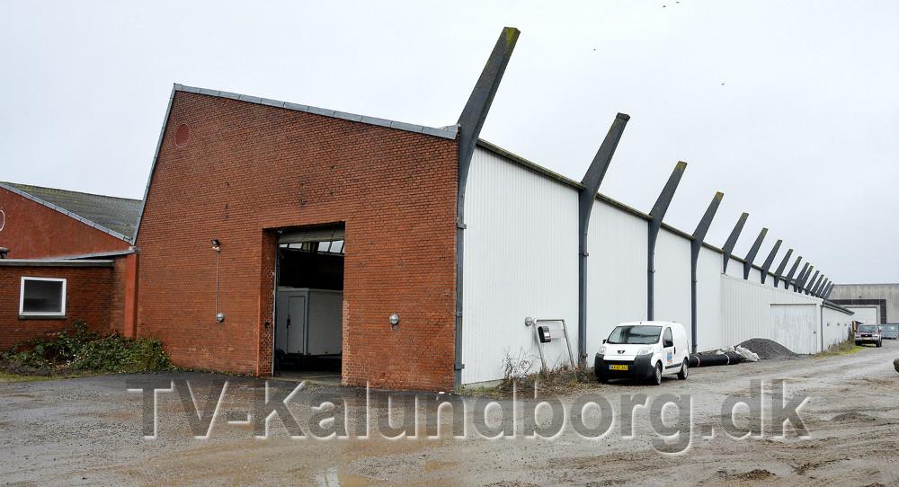 Boehringer Ingelheim, der ligger i det tidligere Bukh på Sydhavnsvej i Kalundborg, udvider. Foto: Jens Nielsen.