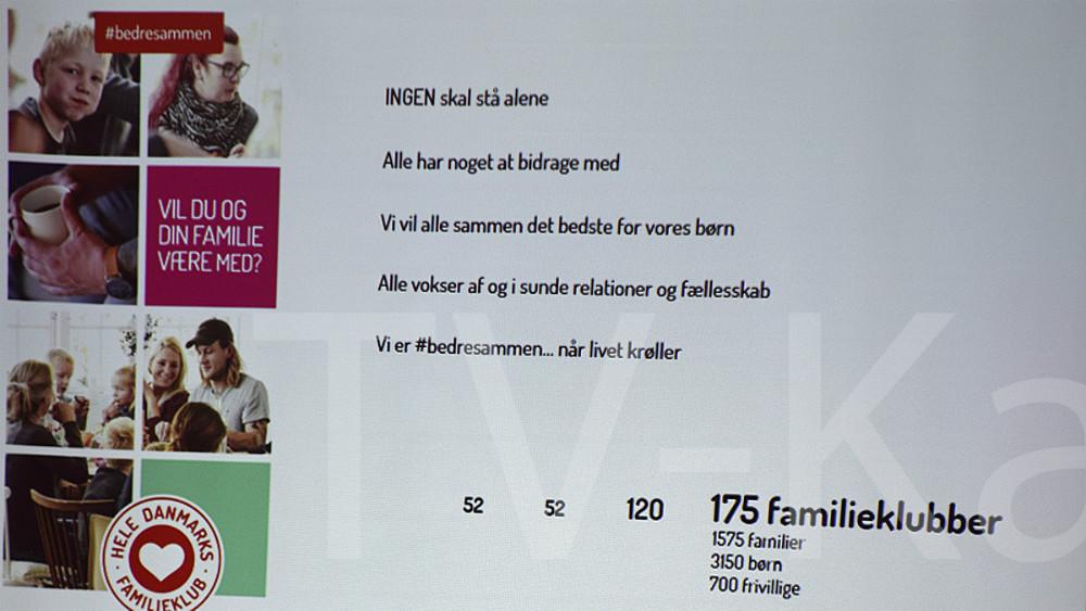 'Hele Danmarks Familiekub´ handler om fællesskab og netværk familier imellem. Foto: Gitte Korsgaard.