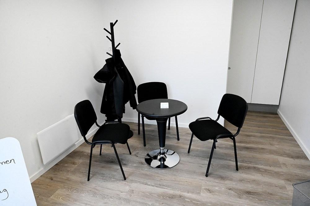 Venterum og kundetoilet. Foto: Jens Nielsen