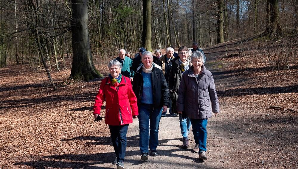 Socialt samvær i Gigtforeningen med de mange aktiviteter. Foto: Gigtforeningen.