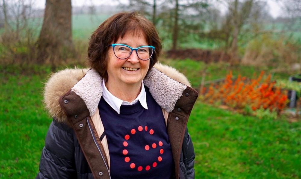 Gigtforeningens Vestsjællandskreds kredsformand, Henny Rose Pedersen. Foto: Gigtforeningen.