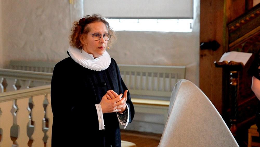 Sognepræst Lisbeth Dyxenburg. Foto: Jens Nielsen