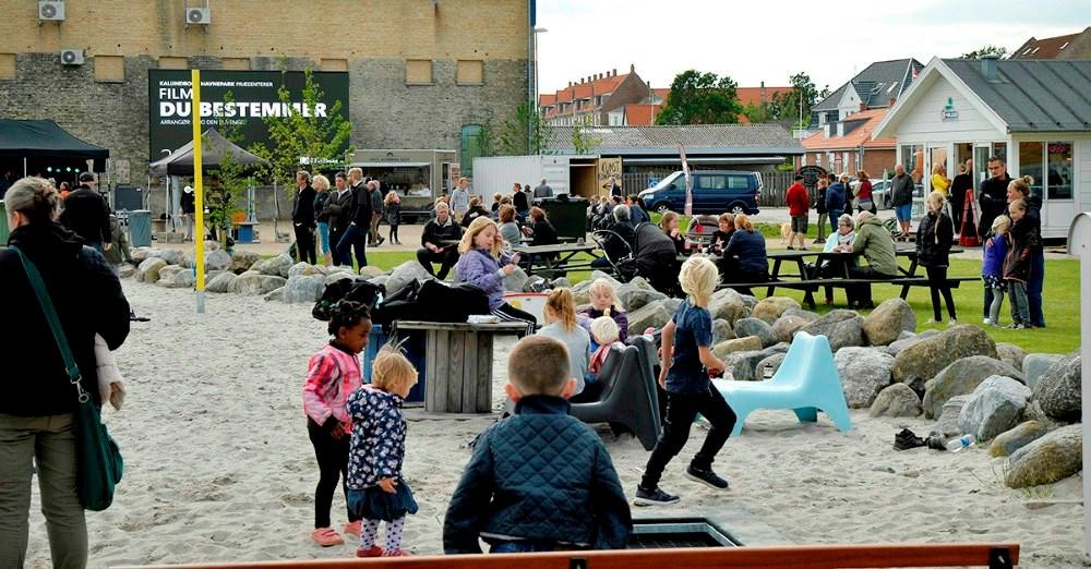 Flere og flere vil lægge deres arrangementer i havneparken. Arkivfoto: Jens Nielsen