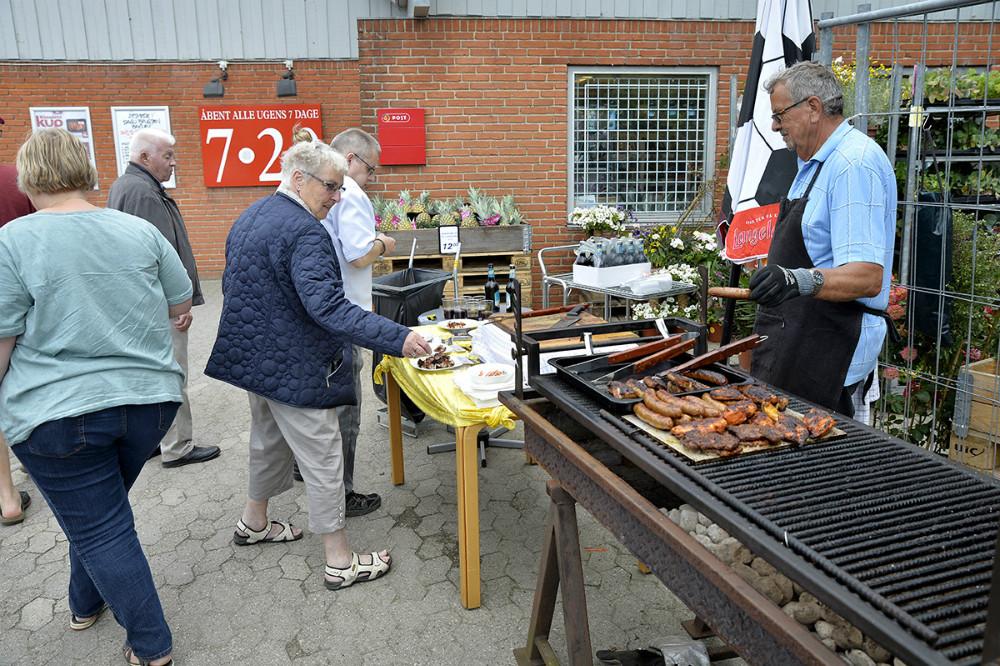 Grillmester Jens Andersen. Foto: Jens Nielsen