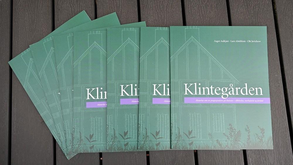 Den nye bog om Klintegården. Foto: Jens Nielsen
