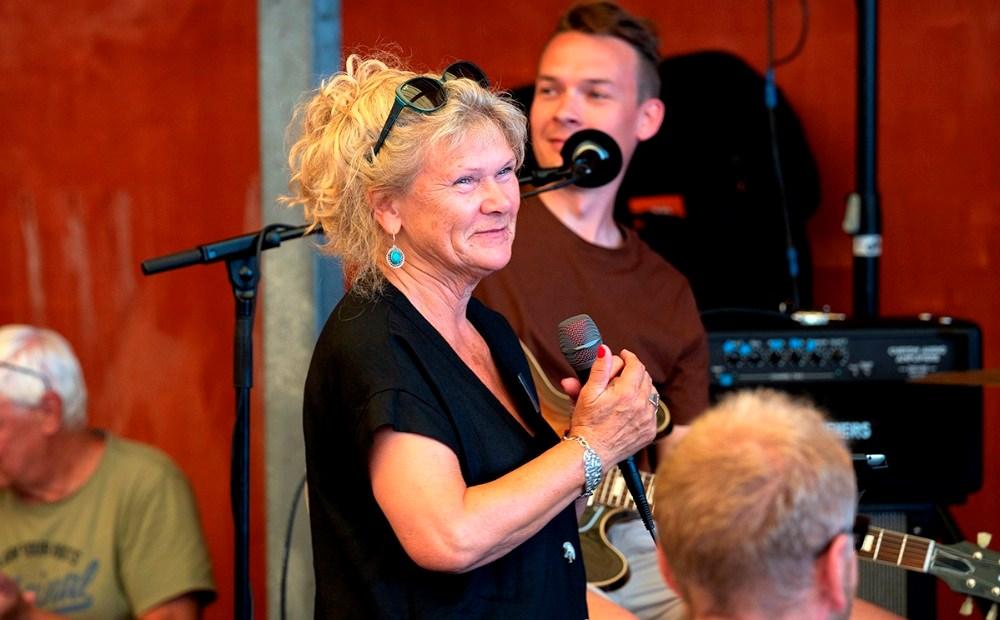 Dorte Birch, formand for Kalundborg Blues- og JazzClubFoto: Jens Nielsen