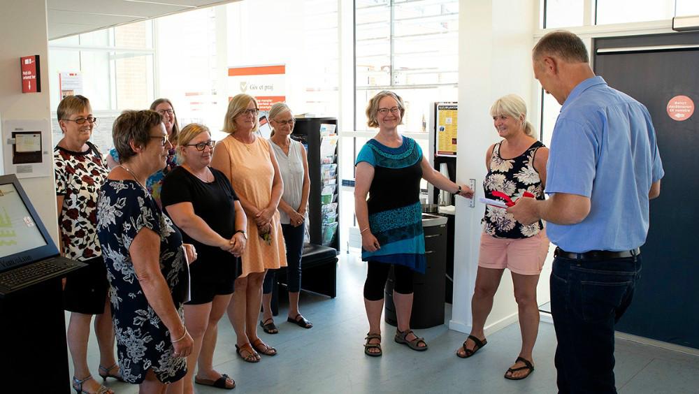 Kalundborg Lærerkreds afleverede sidst i juni en underskriftindsamling til Borgmester Martin Damm, nu har parterne sat sig til forhandlingsbordet. Arkivfoto: Jens Nielsen