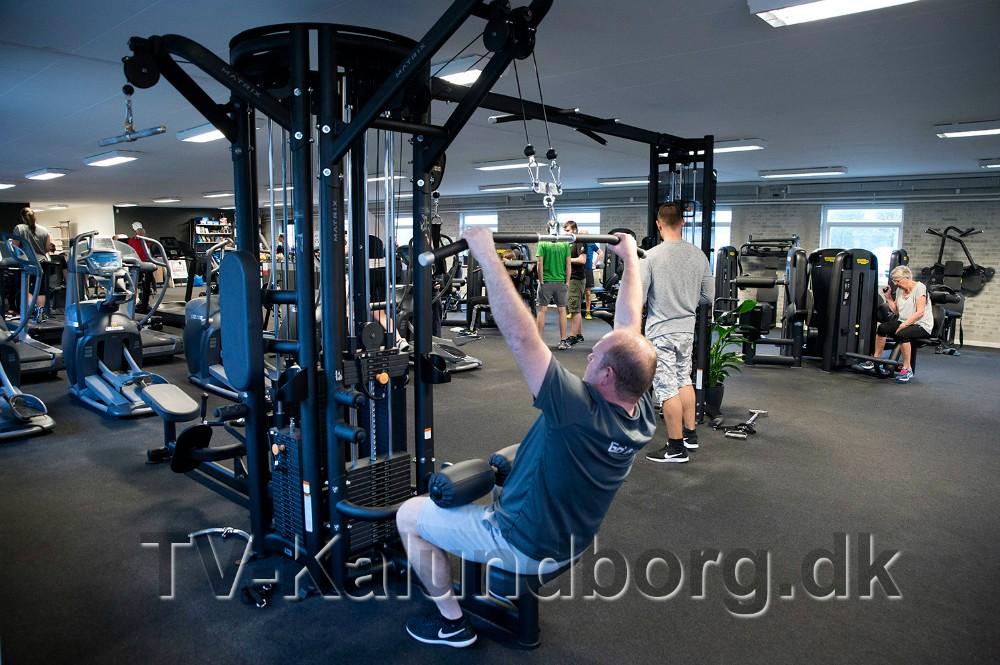 Alle træningsmaskinerne er helt nye i Go´ Form. Foto: Jens Nielsen