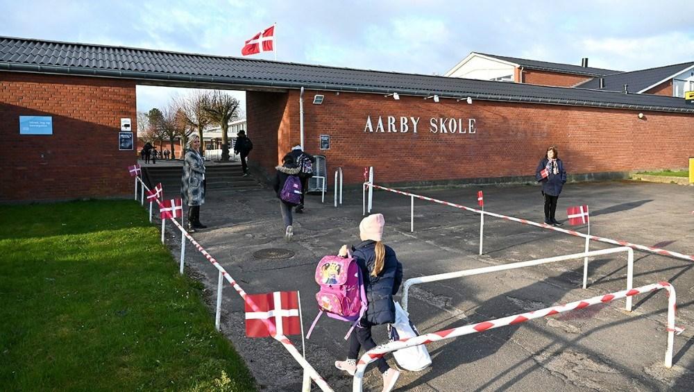 Efter sommerferien er lektionerne på Årby Skole ændret fra 45 min. til 60 min. Arkivfoto: Jens Nielsen.