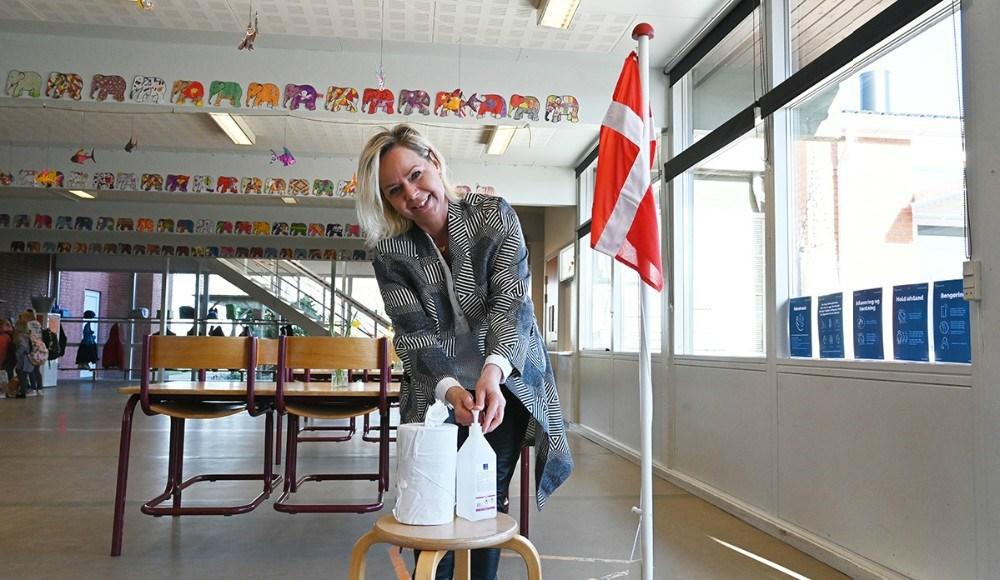 Konstitueret skoleleder, Trine Hjorth Bonde, er spændt på det nye tiltag med længere lektioner. Arkivfoto: Jens Nielsen.