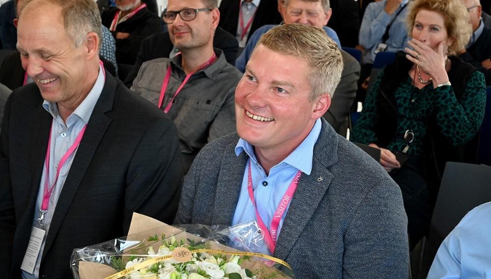 En glad Jesper Hansen. Foto: Jens Nielsen
