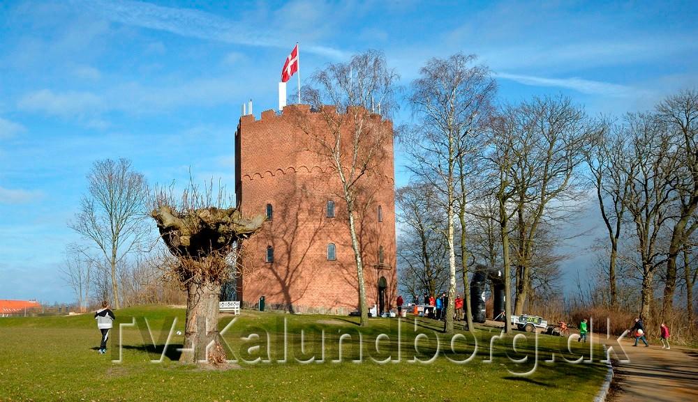 På lørdag er der mulighed for at besøge det gamle vandtårn på Møllebakken. Foto: Jens Nielsen