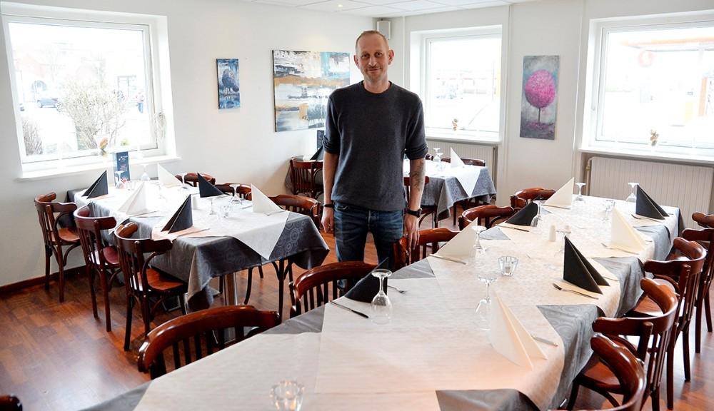Klaus Pedersen i restauranten på Starbowl. Foto: Jens Nielsen