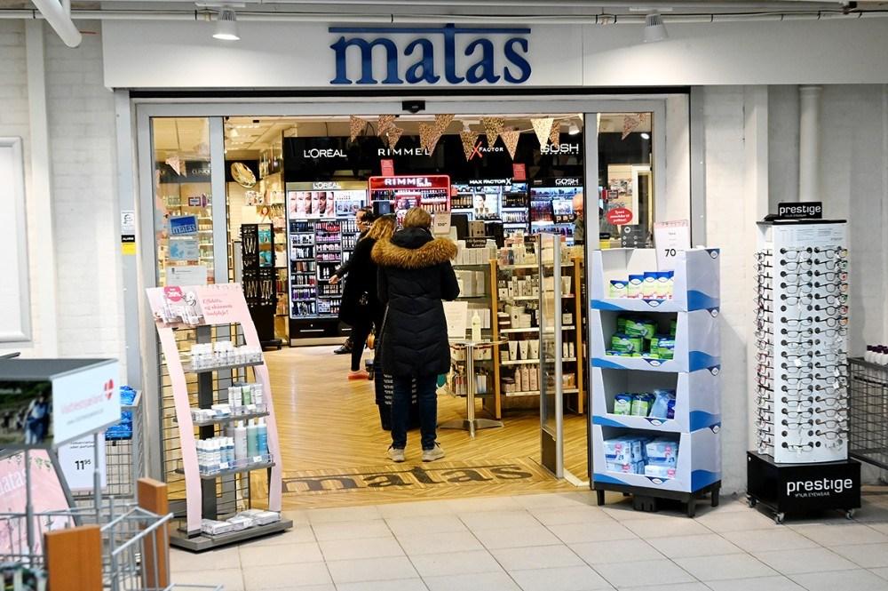 Matas havde tidlig åbent onsdag morgen. Foto: Jens. Nielsen