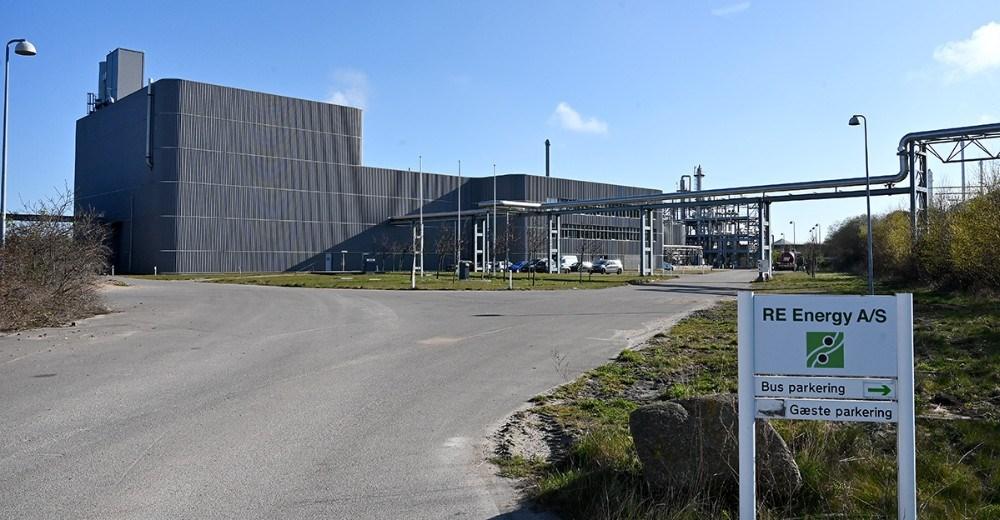 Fabriksanlægget i Kalundborg, der nu er ejet af RE Energy. Foto: Jens Nielsen