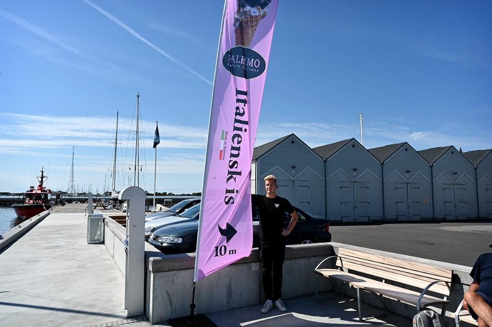 Asger Øgelund satser nu også på italiensk is. Foto: Jens Nielsen