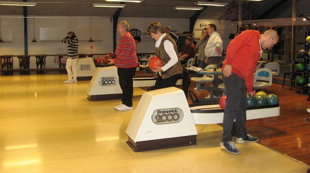 Der er også mulighed for at spille bowling gennem Kalundborg Firma Sport. Privatfoto