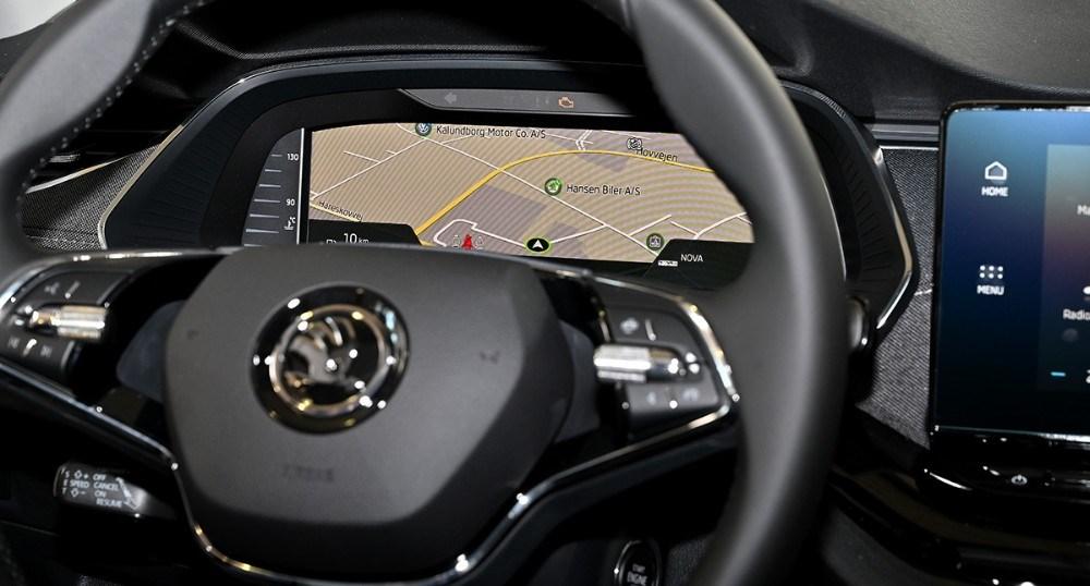 Navigationen kan fylde hele billedet ud. Foto: Jens Nielsen