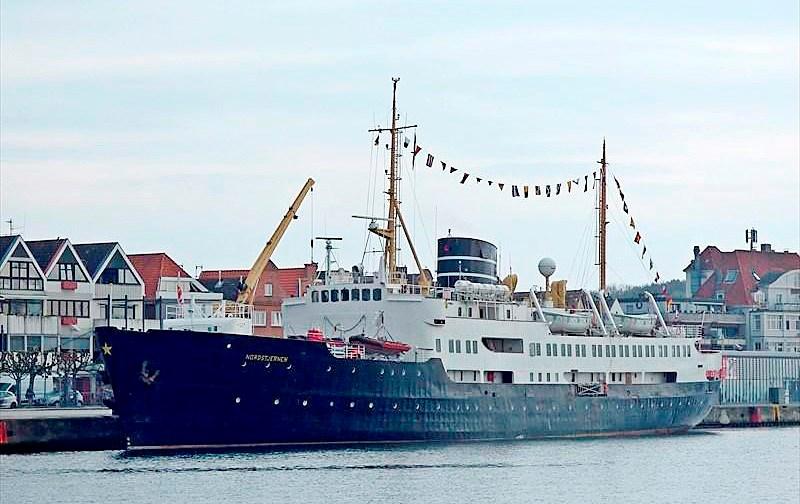 M/S Nordstjernen anløber Kalundborg på tirsdag.