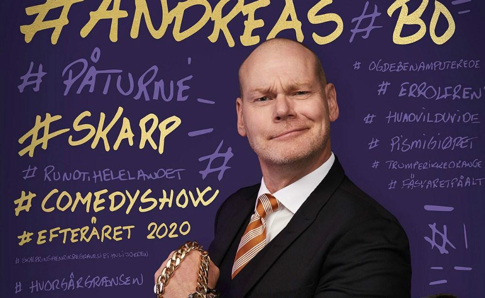 Andreas Bo kommer i Kalundborghallen i stedet for Kino Den Blå Engel