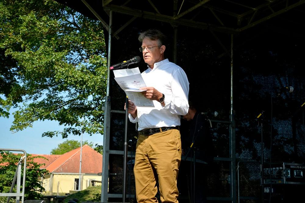 Igen i 2019, er det John Højbusk, initiativtager til Folkemøde Kalundborg i Høng, som står i spidsen for arbejdsgruppen. Arkivfoto: Jens Nielsen