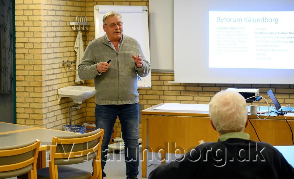 Hans-Henrik Nielsen, formand for Kalundborg Turistforening. Foto: Jens Nielsen