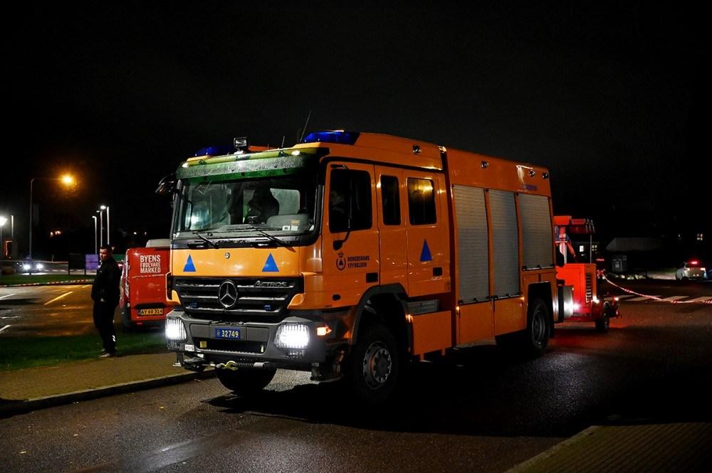 Beredskabsstyrelsen fra Næstved assisterede med bl.a. lys på gerningsstedet. Foto: Jens Nielsen