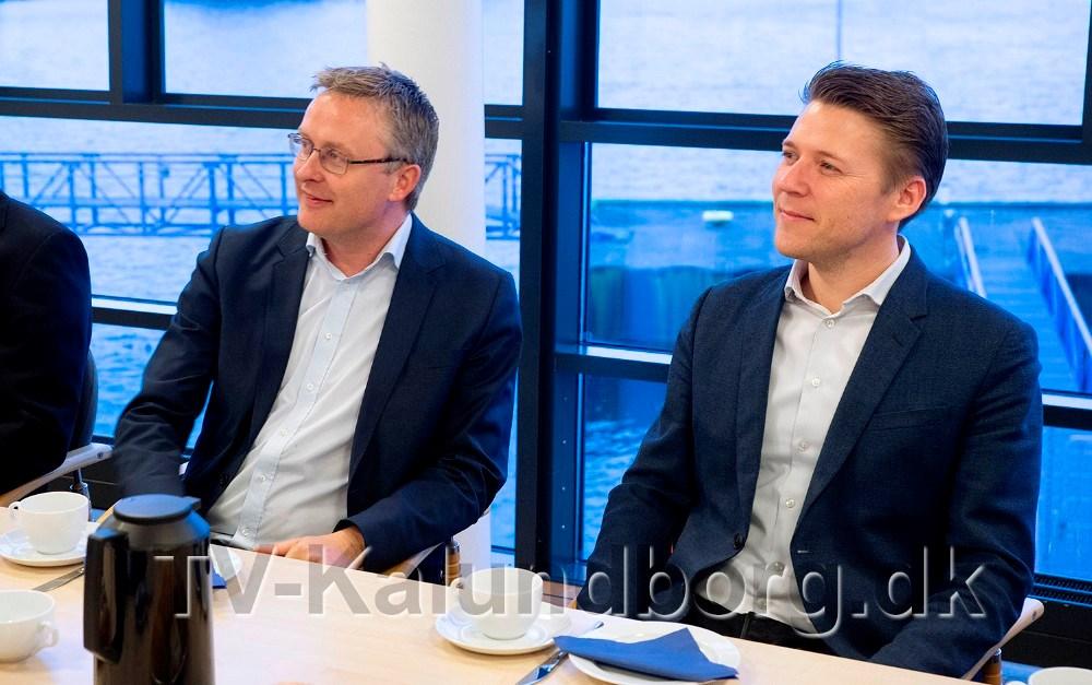 Jacob Jensen og Rasmus Horn Langhoff. Foto: Jens Nielsen