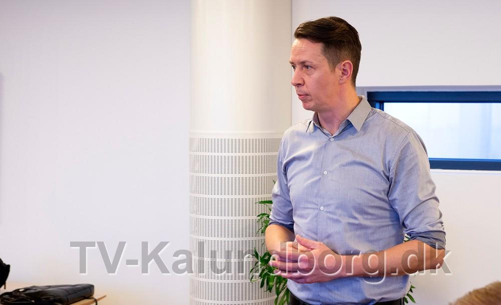 Jens Lerager, erhvervschef, Kalundborgegnens Erhvervsråd. Foto: Jens Nielsen