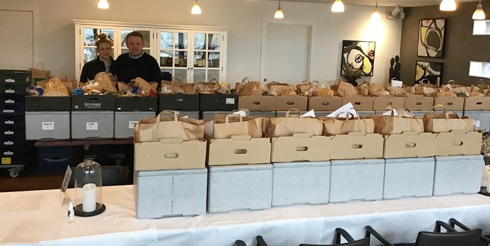 Restaurant Suri i Holbæk står for at producere maden til måltidskasserne. Privatfoto