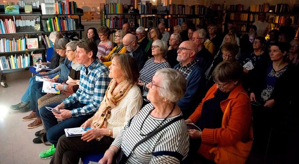 Der var udsolgt til arrangementet mandag aften. Foto: Jens Nielsen