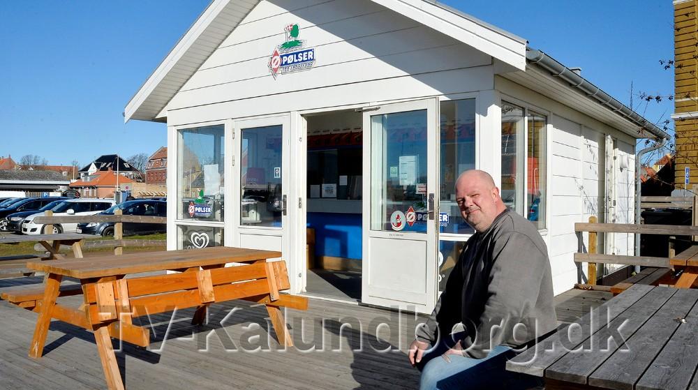 Niels Jensen, eller bare Niller, er den nye indehaveraf Havnegrillen i havneparken. Foto: Jens Nielsen