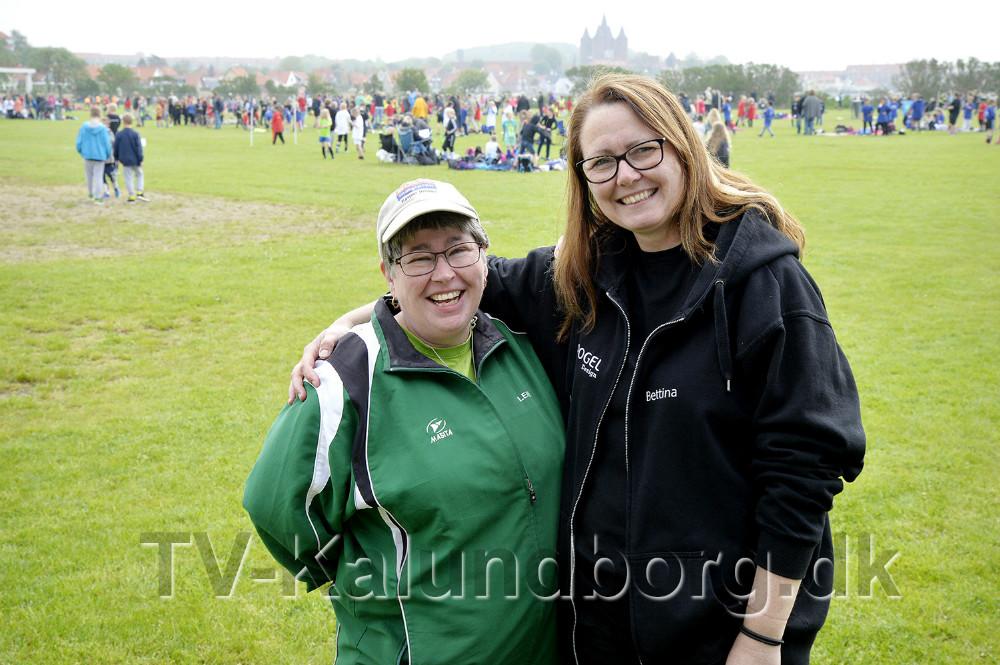 De to kvinder bag skolearrangementet, Lene Bang Christensen og Bettina Dahl Eriksen. Foto: Jens Nielsen